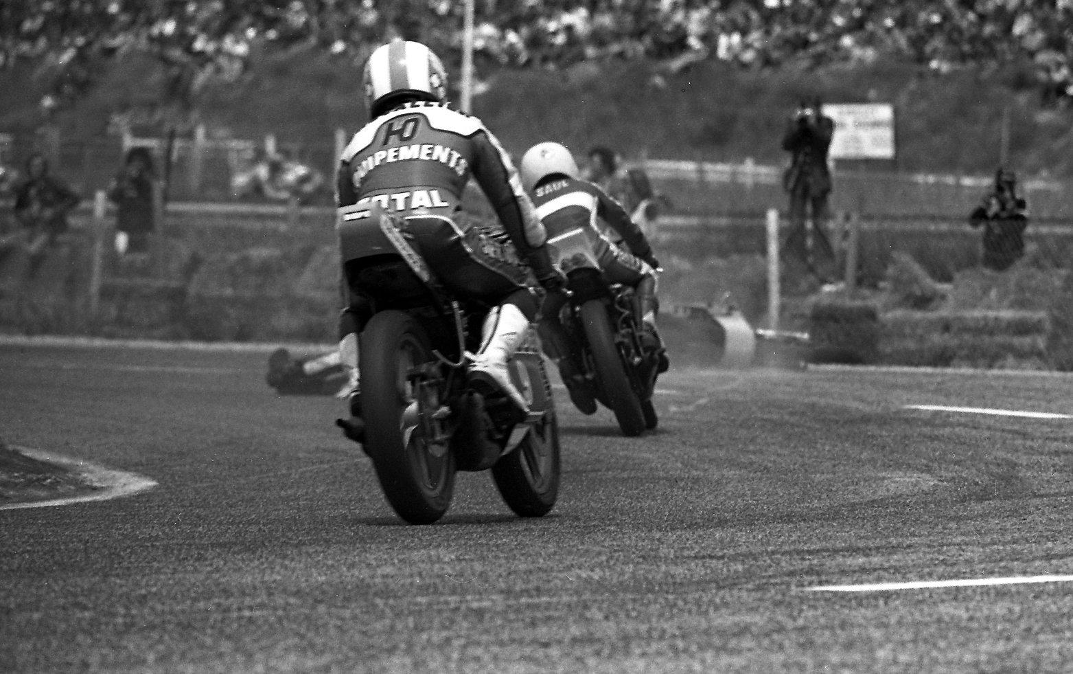 chute de Patrick Pons Grand prix de France 1977